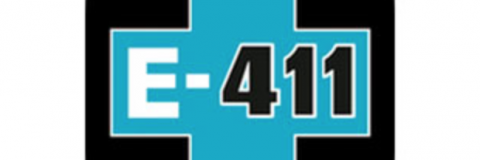 e-411 sign
