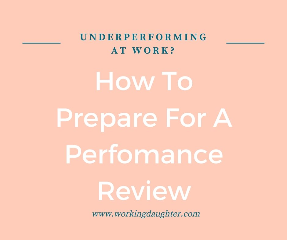 how to prepare for a performance review
