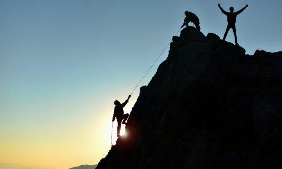 self care mountain climbers